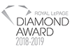 Royal LePage Diamond Award 2018-2019