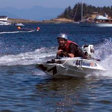 Bathtub race in Nanaimo