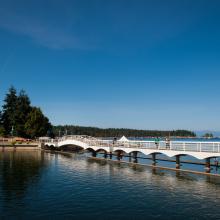 Bridge at the Lagoon, Nanaimo