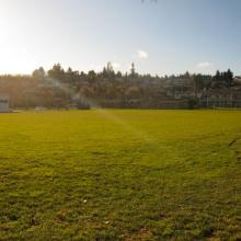 Playing fields at Departure Bay