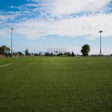 Soccer field Nanaimo