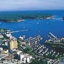 View of Nanaimo