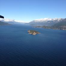 View from float plane