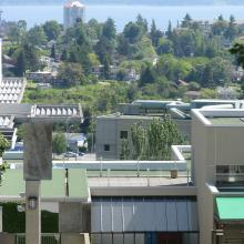 View from VIU