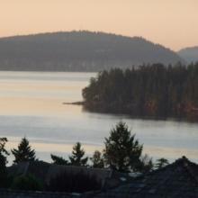 Islands around Nanaimo