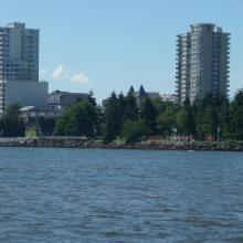 Nanaimo cityscape