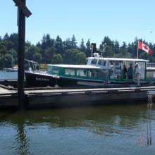 Ferry to Newcastle Island