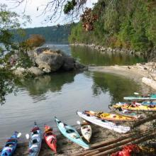 Gulf Island Kayaking