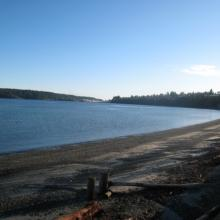 Departure Bay Beach